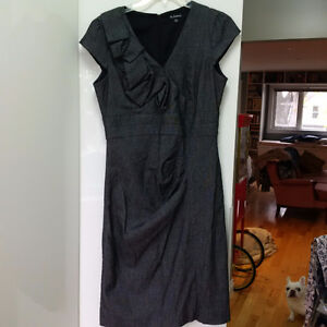 Long work appropriate Mad Men style dress - great for curves!