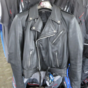 Traditional  Men's Leather Motorcycle Jacket ONLY $90 RE-GEAR