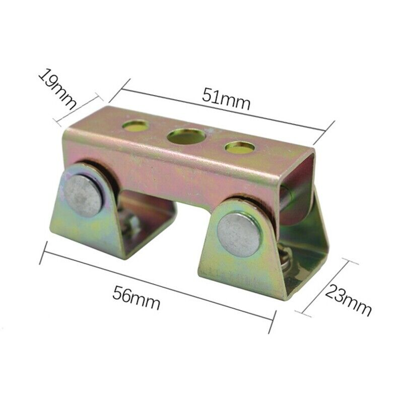 2x Adjustable Magnetic Welding Clamps Holder Suspender Fixture Pads Tab
