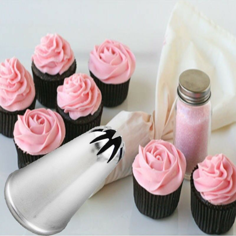 Decorating Ideas > Mini Drop Flower Icing Piping Nozzle Tips Cake Cupcake  ~ 224142_Cake Decorating Ideas Roses