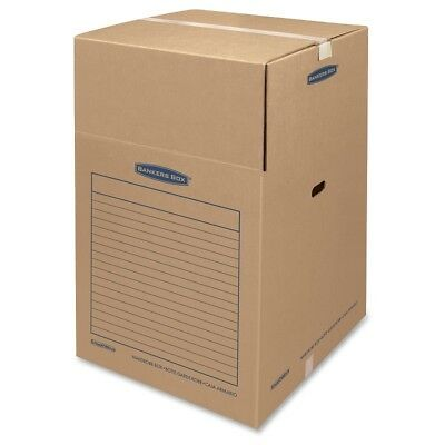 Smoothmove Bankersbox Wardrobe Boxes Large 3 Count