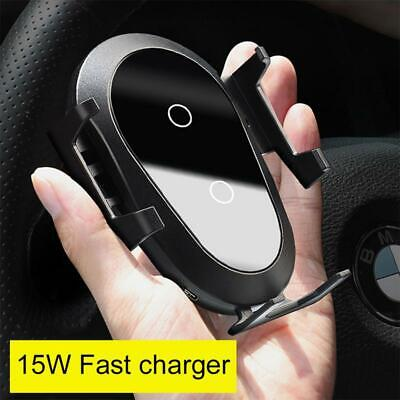 Handy Halterung Auto Wireless Fast Charger Qi KFZ Halter Induktive Ladegerät