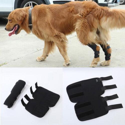 1 Paar Hunde Kniebandage Gelenkschutz Bandage für Vorderbein oder Hinterbein