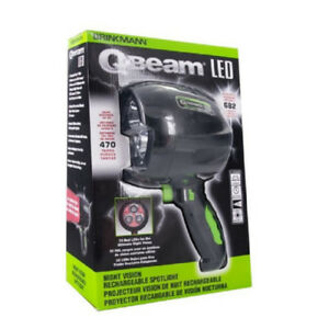 Brinkmann Q Beam LED Rechargeable Spotlight With Night Vision