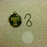 Roots name tag for dog, cat, or other pet