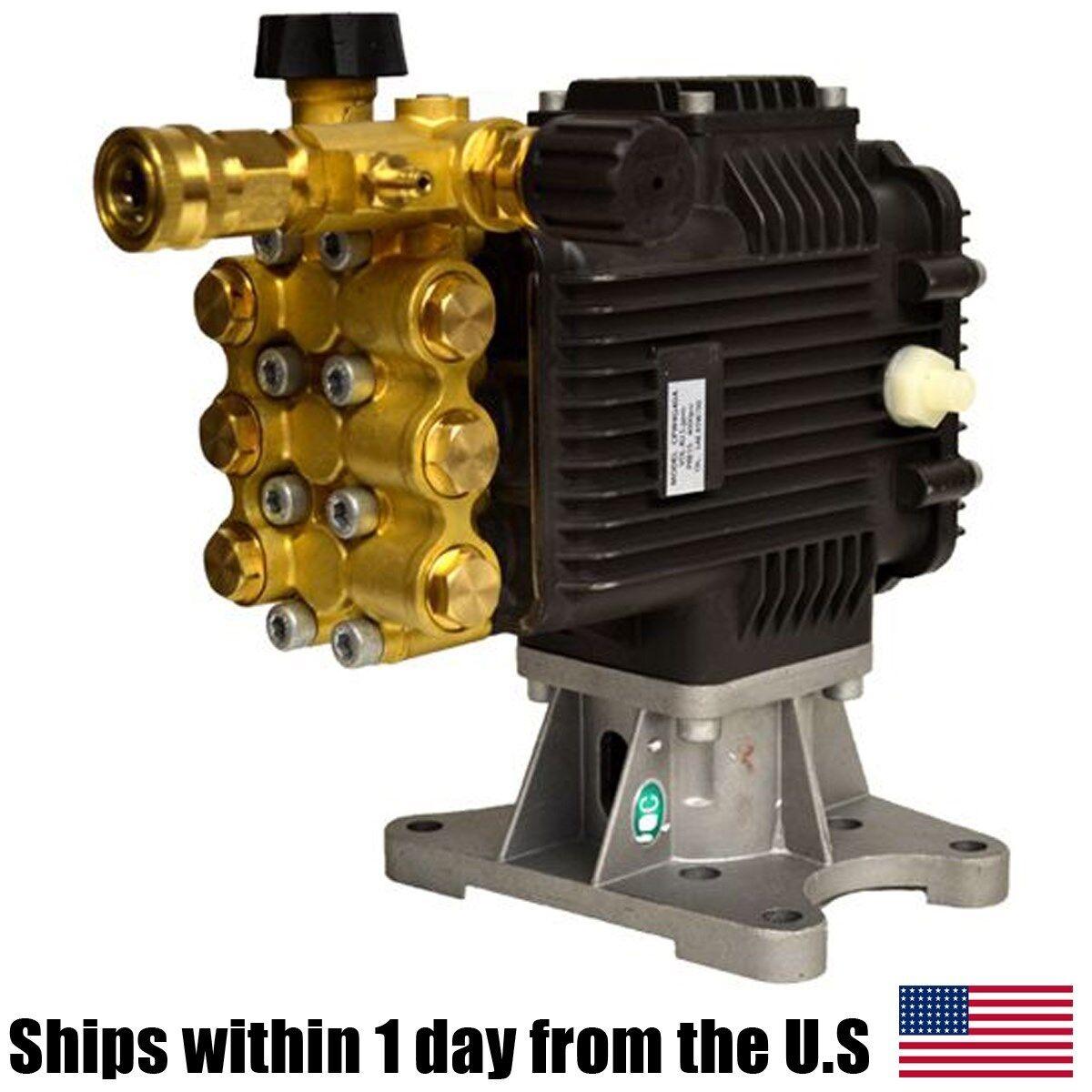 "EB4040HA 4000 PSI Pressure Washer Pump Horizontal Shaft 1"" F"