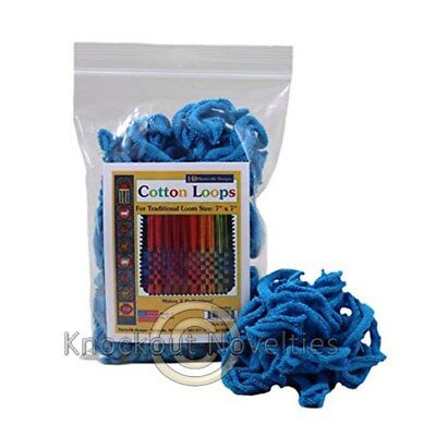 Cotton Loops - Turquoise Old Fashion Pot Holder Loom 2 OZ