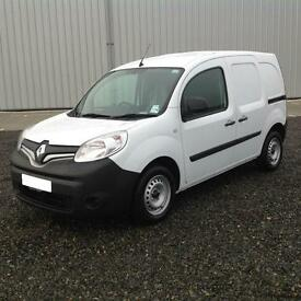 2016 New Renault Kangoo ML19 Dci 90 Business Model in White + Factory Steel Bul