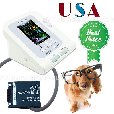 Vetanimalpet Digital Blood Pressure Monitorautomatic Nibp Monitor Us Seller