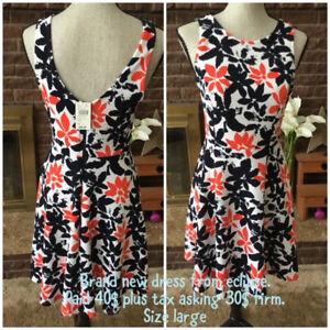 Brand new eclipse dress with tags