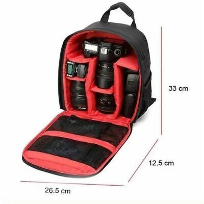 Waterproof DSLR SLR Camera Case Shoulder Bag Backpack For Canon EOS Nikon-Sony