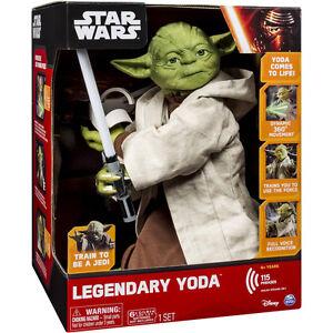 Like New Legendary Jedi Master Yoda in Box