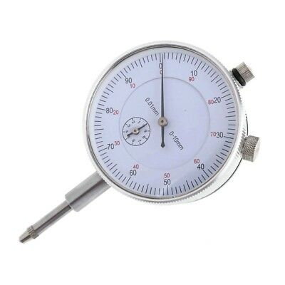 Precision Indicator Gauge Dial 0-10mm Meter Resolution Concentricity Test Tool