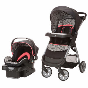 Safety first Amble Quad Travel System stroller