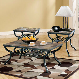 Ashley Antigo Slate Coffee & End Tables