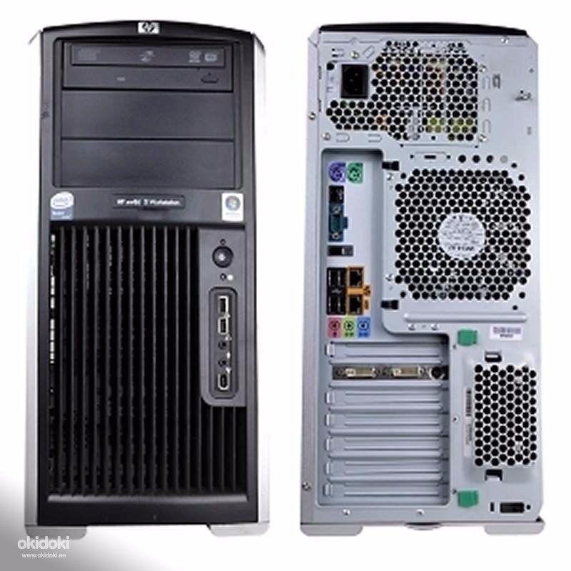 HP XW8600, 2 x Quad 3.0ghz (8 core), 16gb RAM, 2x300gb 15k SAS +2TB HD, 9800GTX