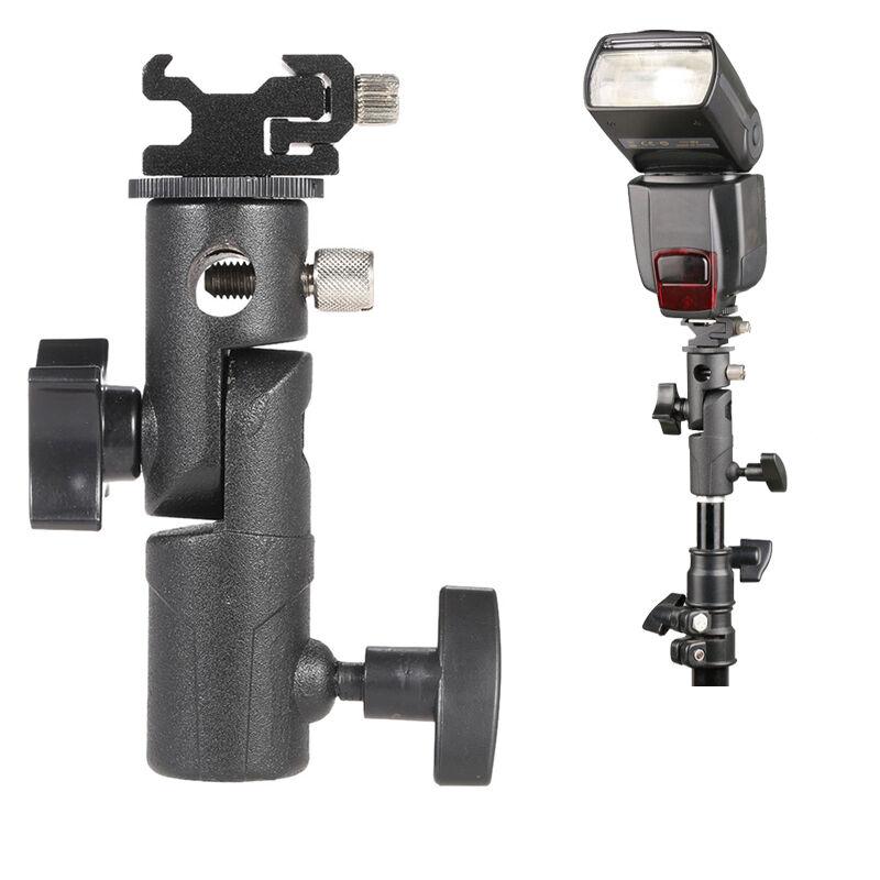E Type Hot Shoe Mount Flash Bracket/Umbrella Holder Stand for Canon Nikon Pentax