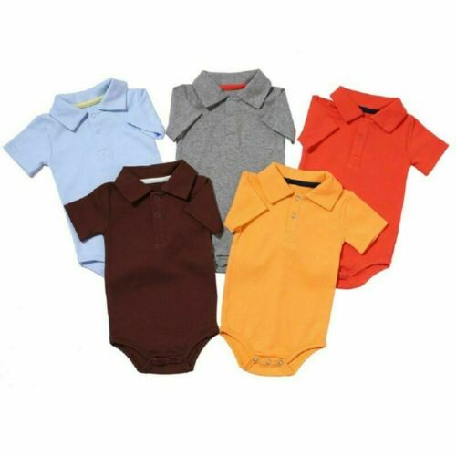 Cotton Bodysuits for Infant Summer Baby Boy Girl Rompers 0-2Y Toddlers Outfits