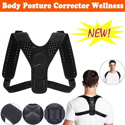 Best Posture Corrector & Back Support Brace Shoulder Upper Back Neck Pain