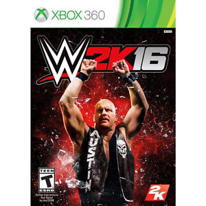 WWE 2K16 for xbox 360 $35 BRAND NEW