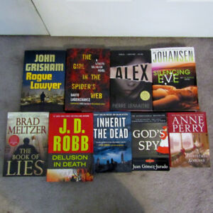 Mystery Hardcover Book Lot - price is for all