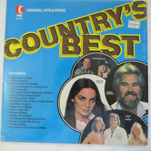 """Country's Best""  record on an LP by K-Tel"
