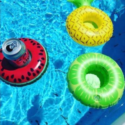 Aufblasbarer sich hin- und herbewegender Swimmingpool-Strand-Getränk-Dosenhalter