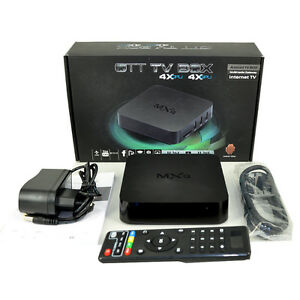 ANDROID TV BOX WITH FREE WIRELESS AIR-MOUSE & 1 YEAR WARRANTY