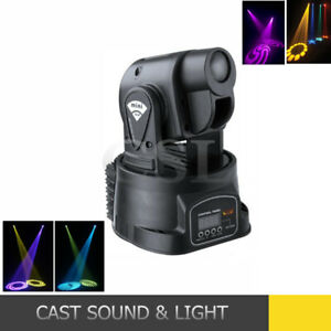 DJ PAIR OF MINI LED MOVING HEAD LIGHTS