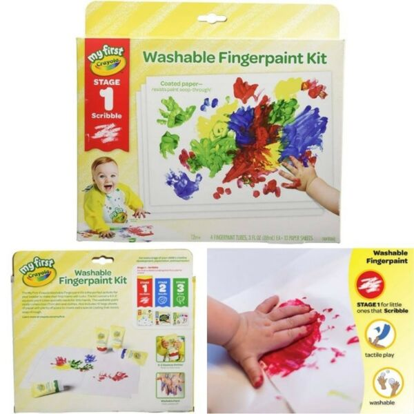 BNIB: Crayola My First Finger Paint for Toddlers