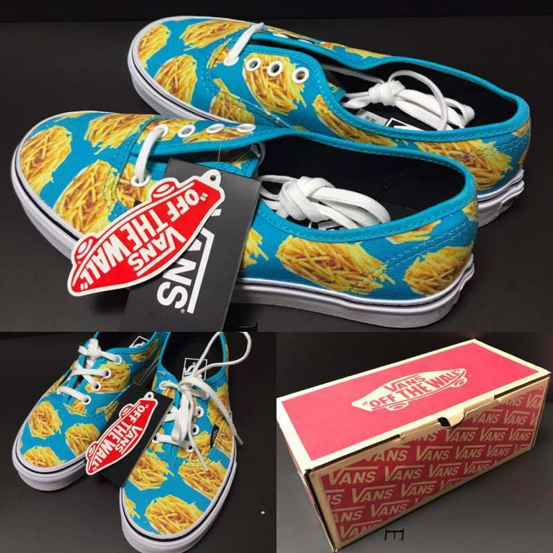Details about Vans Authentic Late Night Atoll Fries New Sneakers US Women 6.5 Fashion Shoes