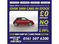 Fiat 500 1.4 T-Jet ( 160bhp ) Abarth 595 Turismo FINANCE from £49 PW