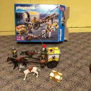 Playmobil knight treasure guard West Island Greater Montréal image 1