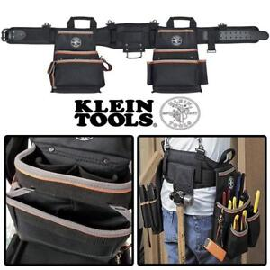 NEW Klein Tools 55428 Tradesman Pro Electricians Tool Belt, Large Condtion: New, Large