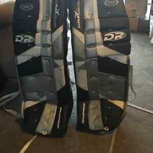 Bullet proof goalie pads great condition