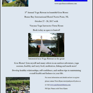 Gros Morne Yoga Retreat