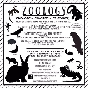 EDUCATIONAL AND INTERACTIVE EXOTIC ANIMAL SHOW COME TO YOU! ! !