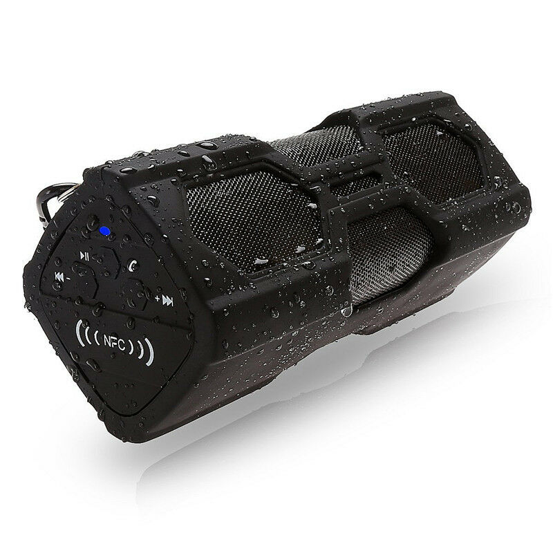 Portable Wireless Speaker Waterproof Power Bank Ultra Bass Subwoofer