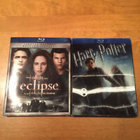 Twilight & Harry Potter Blu-Ray neuf