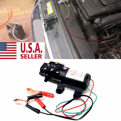 Motor Oil Diesel Fuel Fluid Extractor Electric Transfer Siphon Change Pump 12v