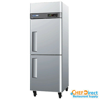 Turbo Air M3f24-2-n 28 Double Half Door Reach-in Freezer
