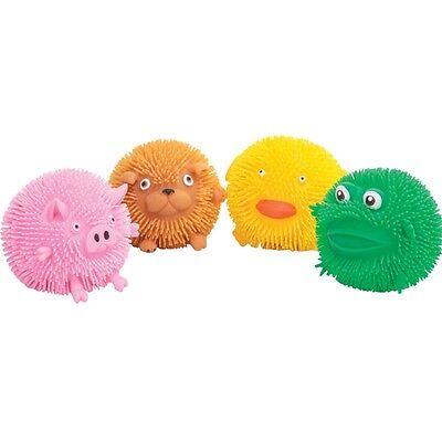 Bauernhof Puffer Ball - Quetsch Squish mehrfarbig Tier Stress abzubauen Bälle