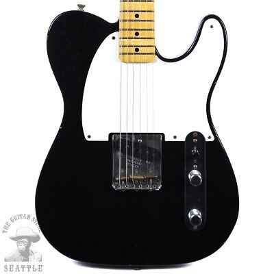 Fender Custom Shop Limited Full Throttle Esquire Journeyman Relic Black 92351028