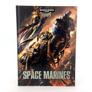 Warhammer 40K Book Space Marines Codex 6th Ed Games Workshop