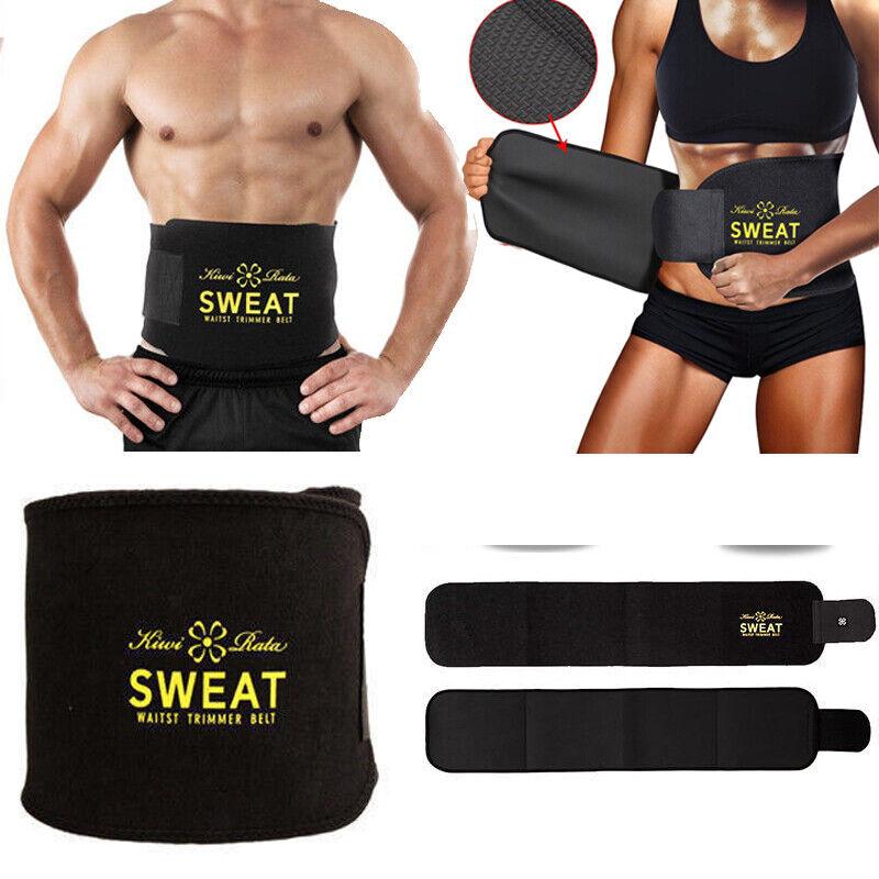 Women Men's Waist Trainer Belt Belly Fat Burner Body Shaper