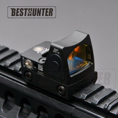 Rm07 Rmr Trijicon Clone With Case Red Dot Reflex Tactical Glock  Usa Seller