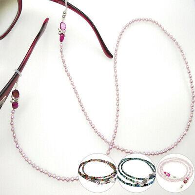 Eyeglasses Snow Chain Handmade Pearl For Eye Glasses Sunglasses Lanyard (Glasses For Snow)