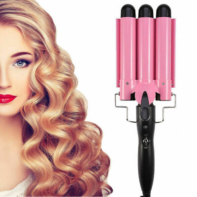 3 Barrel Lockenstab (3 Barrels Big Wave Hair Curling Lockenstab Für Haare, Für Locken Und Wellen EU)