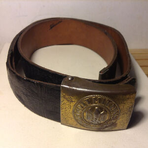 German Army belt and buckle World War Two.