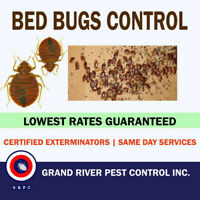 Grand River Pest Control: Lowest Rates & 6 Month Guarantee